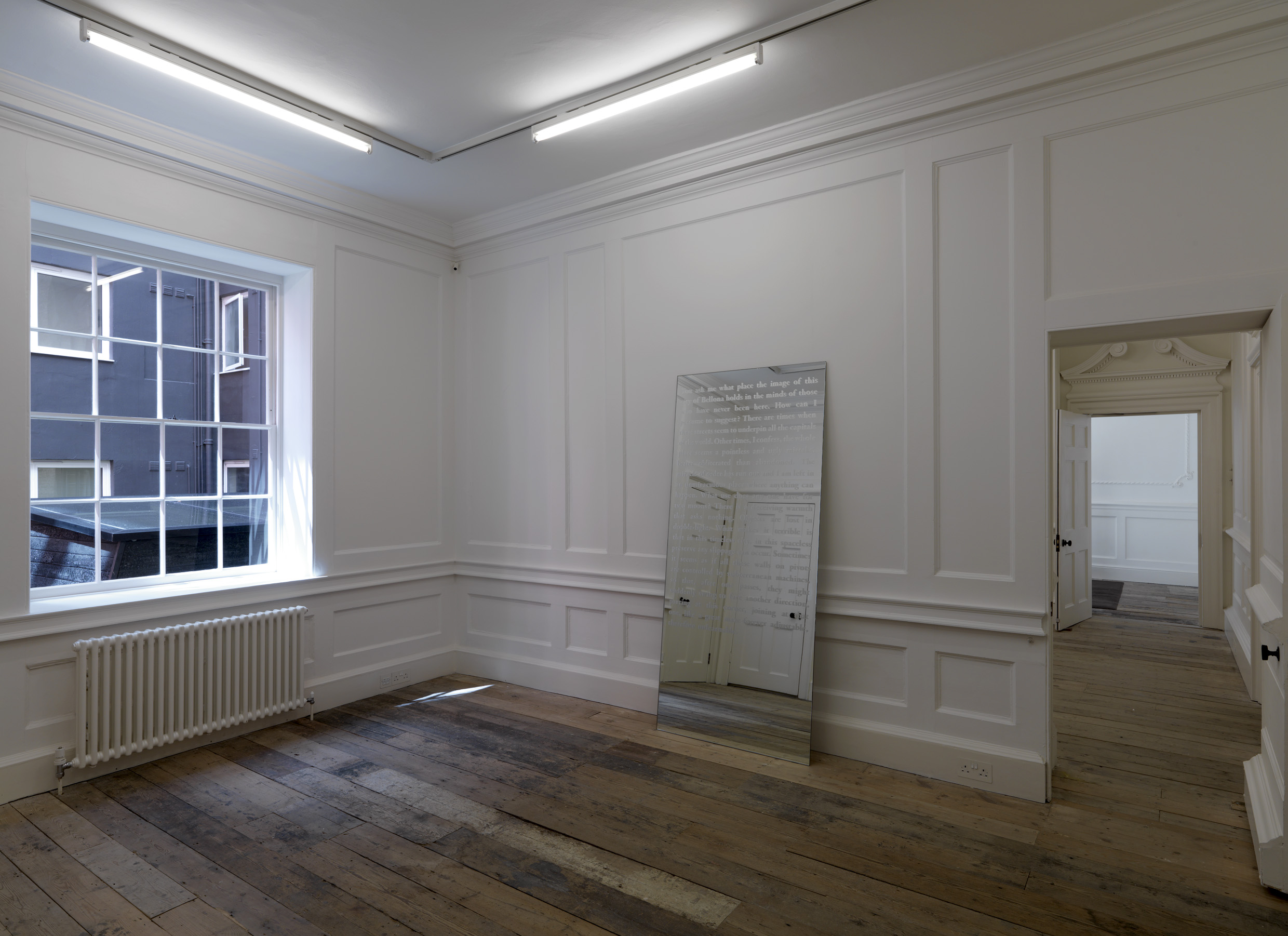 Installation view Raven Row